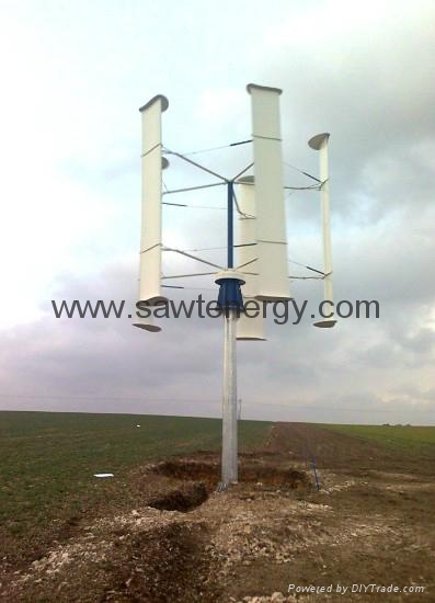 vertical axis wind power turbine 10000w 2