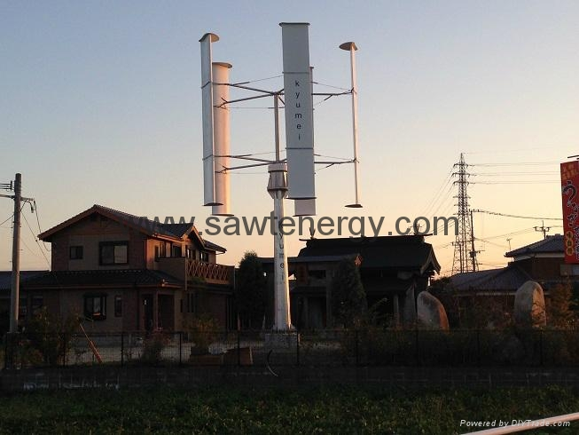 vertical axis wind power turbine 10000w 4