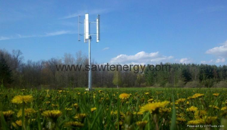 Vertical Wind Power Generator 5000w  1