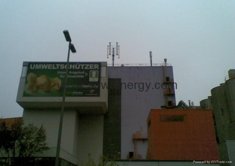 Vertical Wind Power Generator 5000w  3