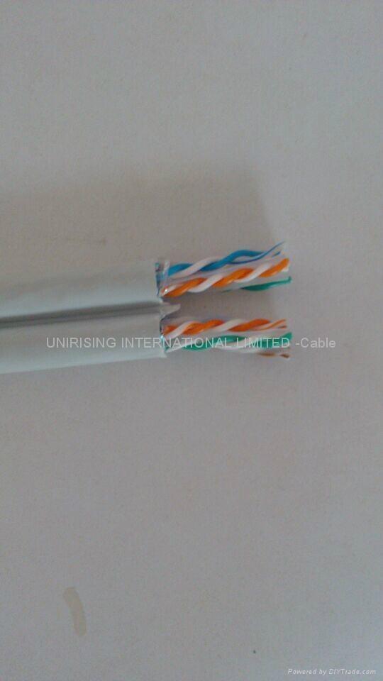 Dual cable Cat6 UTP/FTP 0.56 BC LSZH/PVC 3