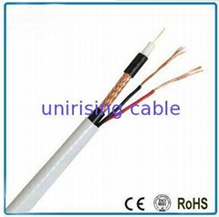 CCTV Cable Rg59 Siamese cable power cable +2c