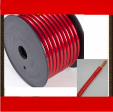 16mm2 Red Transparent battery cable /Jumper Wire