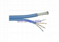 4 Pair CAT5E Lan Cable , RG6QUAD with