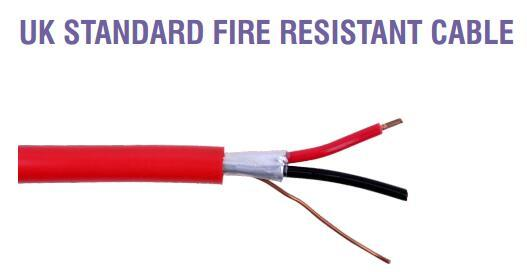 UK STANDARD FIRE RESISTANT CABLE 2
