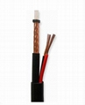 Siamese flexible Coaxial Cable RG59+2C