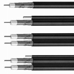 Factory supply 75 Ohm cable coaxial cable rg6