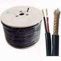 RG59 siamese Coaxial Cable rg500 TOP3 ETL CMR rohs 3