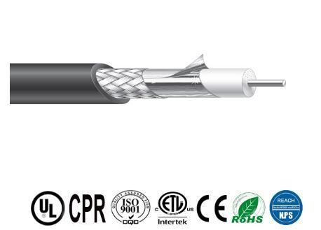 Manufacturer of Low Loss RG6 with jelly for CATV CABLE coaxial cable 1