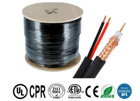 Manufacturer of Low Loss RG6 with jelly for CATV CABLE coaxial cable 6