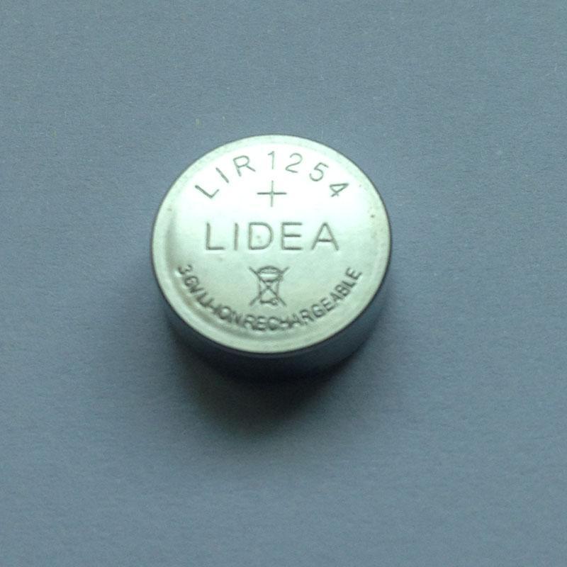 1254焊线纽扣电池TWS蓝牙耳机专用 2