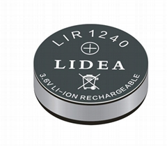 TWS蓝牙耳机纽扣电池LIR1240