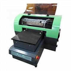 "10.6"" x 21.6"" A3 Size Calca DFP1800U Economics LED White Ink UV Flatbed Printer"