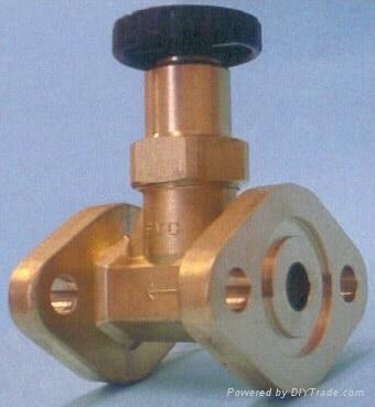 SF6 Bellows seal globe valve 3