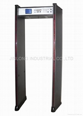 walk through metal detector JL-800A(8ZONES/LCD DISPLAY)