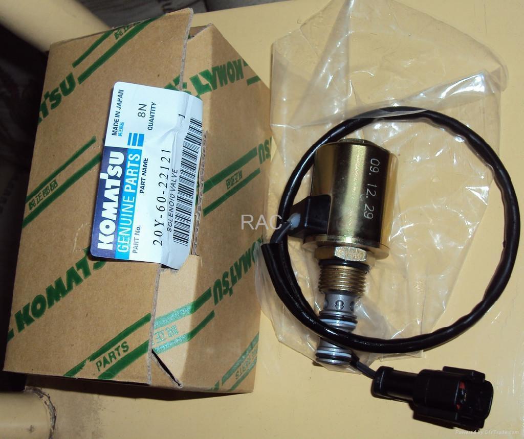 小松PC200-6旋转电磁阀 2