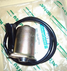 Hydraulic pump solenoid valve for  Komatsu PC200-7