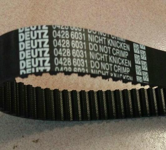 Deutz F4M2011 F3M2011 TD2011 FL2011 timing belt 02931480