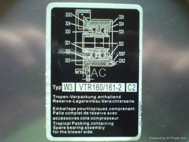 VTR Turbo bearing 4