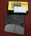 Brake pad 36C0005  for   XGMA ZL50