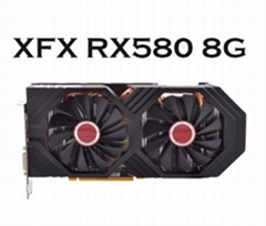 Factory Supply In Stock now  AMD GPU Bitcoin Mining RX580 8GB XFX Bitcoin Ether