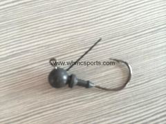 tungsten jig head hook
