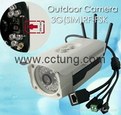 WCDMA 3G HD Outdoor IP Camera with Cloud Server