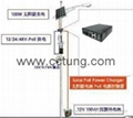 Wind Turbine & Solar Power Panel Integrated System for CCTV System  4