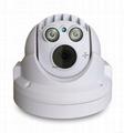 """1/3"""" CMOS progressive scan Image Sensor Megapixel HD IR Mini Dome Camera"""