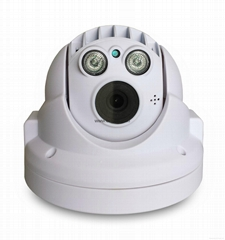 "1/3"" CMOS progressive scan Image Sensor Megapixel HD IR Mini Dome Camera"