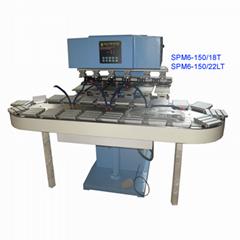 6-color sealed cup pad printer SPM6-150/18T