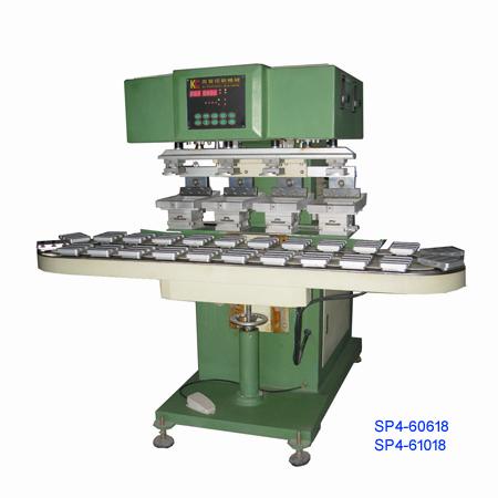 四色轉盤移印機(SP4-60818) 1