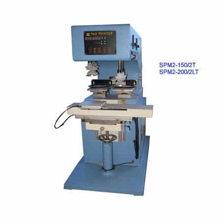 獨立壓印穿梭移印機(SPM2-200/2PT) 1