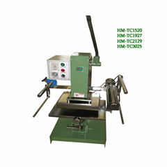 Large -Press precision Hot stamping machine