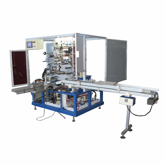 automatically soft-tube hot stamping  machine  2