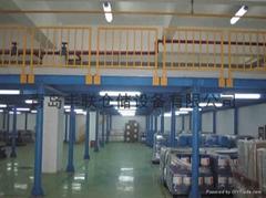 青島鋼結構平台