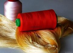 定做 過蠟 聚酯纖維皮具縫紉線