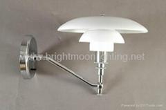 PH 3/2  現代 經典 玻璃 裝飾 壁燈 BM-3020W