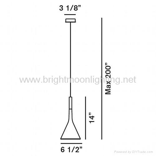 意大利 經典 現代 水泥 樹脂 吊燈 BM-4007 5