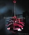 意大利 經典 現代 鋁材 松果 葉片 吊燈 BM-4071