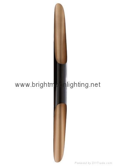 設計師delightfull Coltrane后現代客廳吧台斜口鋁管壁燈 BM-3030W 1 1