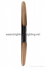 設計師delightfull Coltrane后現代客廳吧台斜口鋁管壁燈 BM-3030W 1