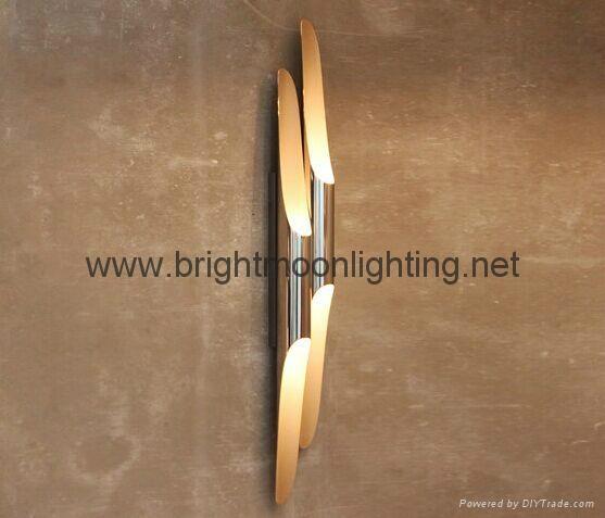 設計師delightfull Coltrane后現代客廳吧台斜口鋁管壁燈 BM-3030W 1 4