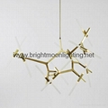 Roll and Hill Agnes Chandelier 20 Light  BM-3032P 20 2