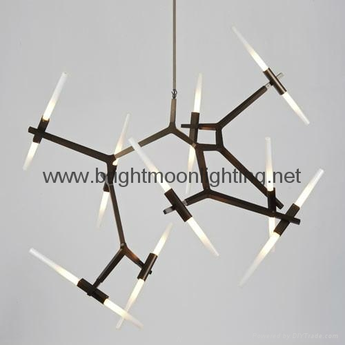 Roll and Hill Agnes Chandelier 20 Light  BM-3032P 20 1