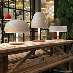 现代 经典 木头 五金 台灯