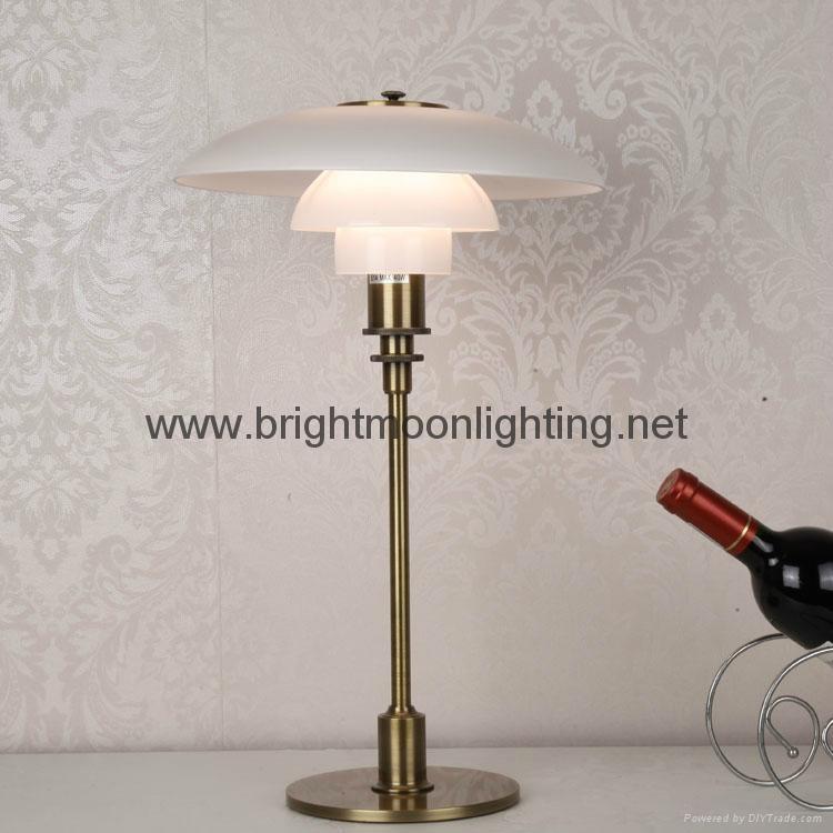 現代 經典 簡約 PH 玻璃臺燈 BM-3020T M 1