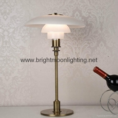 PH 3/2 Glass Table Lamp  BM-3020T M