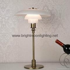 PH 3/2 Glass Table Lamp  BM-3020T M
