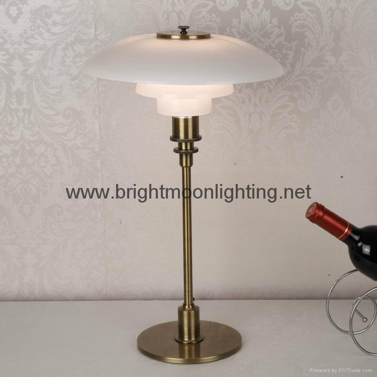 現代 經典 簡約 PH 玻璃臺燈 BM-3020T M 2